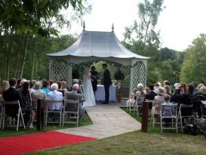 Wedding Ceremony - Gazebo Spa Hotel
