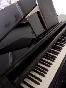 Digital Baby Grand Piano